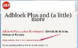 Werkt Adblock Plus voor IE?