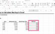 Hoe te berekenen van de opmaak in Excel