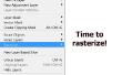 Hoe rasteren tekst in Photoshop