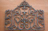 Hoe te doen van de Spaanse kant muur textuur