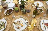 Hoe maak je een oude houten eettafel Look nieuwe?