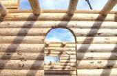Hoe witter en helderder van een Log Home