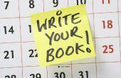 Hoe te beginnen met het schrijven van je boek