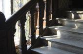 Hoe te repareren van houten trappen