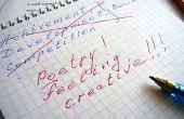 Hoe het schrijven van een origineel gedicht voor twee stemmen