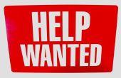 Wat mensen rekening houden bij het zoeken naar een baan?
