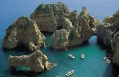 Stranden in Zuid-Portugal