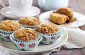 Hoe te vervangen door appelmoes voor olie in Muffin recepten