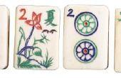 Hoe te spelen het kaartspel Mahjong