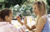 Van een volwassene voedsel houdt & antipathieën heeft geen invloed op wat de kinderen eten?