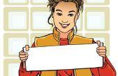 Hoe maak je een Brochure-sjabloon