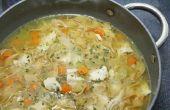 Houdbaarheid voor ingeblikte Chicken Noodle Soup