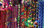 Zuinig zelfgemaakte decoraties voor een feest Mardi Gras