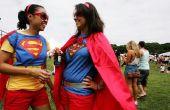 Vrouwelijke superheld kostuum ideeën
