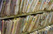 How to Set Up kantoorpapier archiefsystemen