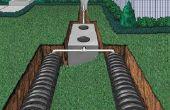 Hoe installeer ik een Septic Tank en een veld lijn rioolsysteem