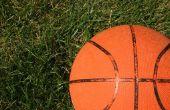 Hoe te een basketbal doel met zand vullen