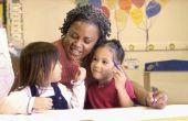 Inschrijven en een kind in de kleuterschool