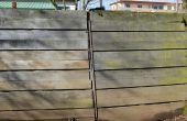 DIY: Kat Proof Fence