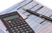 Lijst van fiscale aftrek voor een Canadese eenmanszaak