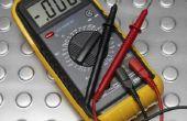 Hoe te testen een 3-fase Motor met een multi Meter