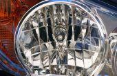 Het wijzigen van een koplamp-lamp op een Chrysler Crossfire