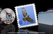 Het gebruik van stationaire in Mac OS X Mail
