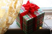 Bow koppelverkoop instructies voor Kerst lint
