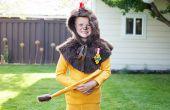 Hoe maak je een laffe leeuw kostuum voor kinderen