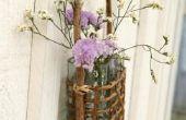 Hoe te monteren Hanging Baskets op Siding