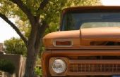 Instructies voor het installeren van een houten Bed in een 1966 Chevrolet Truck