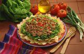 Taco Salade ingrediënten