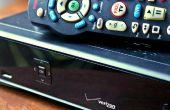 Het zelf installeren van een Verizon FiOS TV