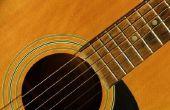 Hoe te beschrijven van het geluid van een gitaar