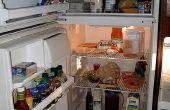 Hoe los ik mijn koelkast?