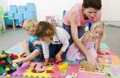 Hoe voor te bereiden van wekelijkse lesplannen in kinderopvang