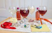 Manieren om te identificeren wijnglazen op een feestje