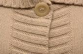 Hoe om vlekken te verwijderen uit een trui van katoen