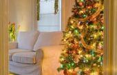 Kerst decoratie ideeën voor een grote plaats