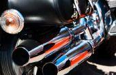 How to Build uw eigen motorfiets uitlaat Baffles