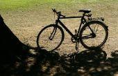 Hoe schoon roest off van een fiets
