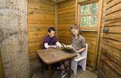 How to Build een fundamentele houten clubhuis