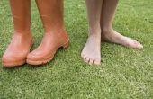 How to Kill onkruid in het gras met huismiddeltjes