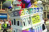Hoe maak je een miniatuur Parade Float