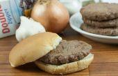 Hoe te bevriezen Hamburger pasteitjes met kruiden