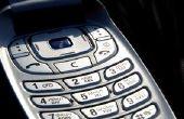 Het verzenden van een lege SMS