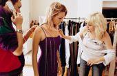 Hoe drukt u op een jurk zonder hoge hitte