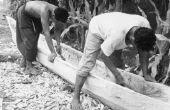 How to Build een kano zoals de inheemse Amerikanen deed