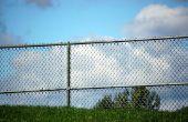 Hoe maak je een lelijke ketting Link hek kijken beter