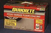 Soorten Garage vloer bedekking